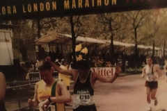 Paul Dennis - London Marathon 1999