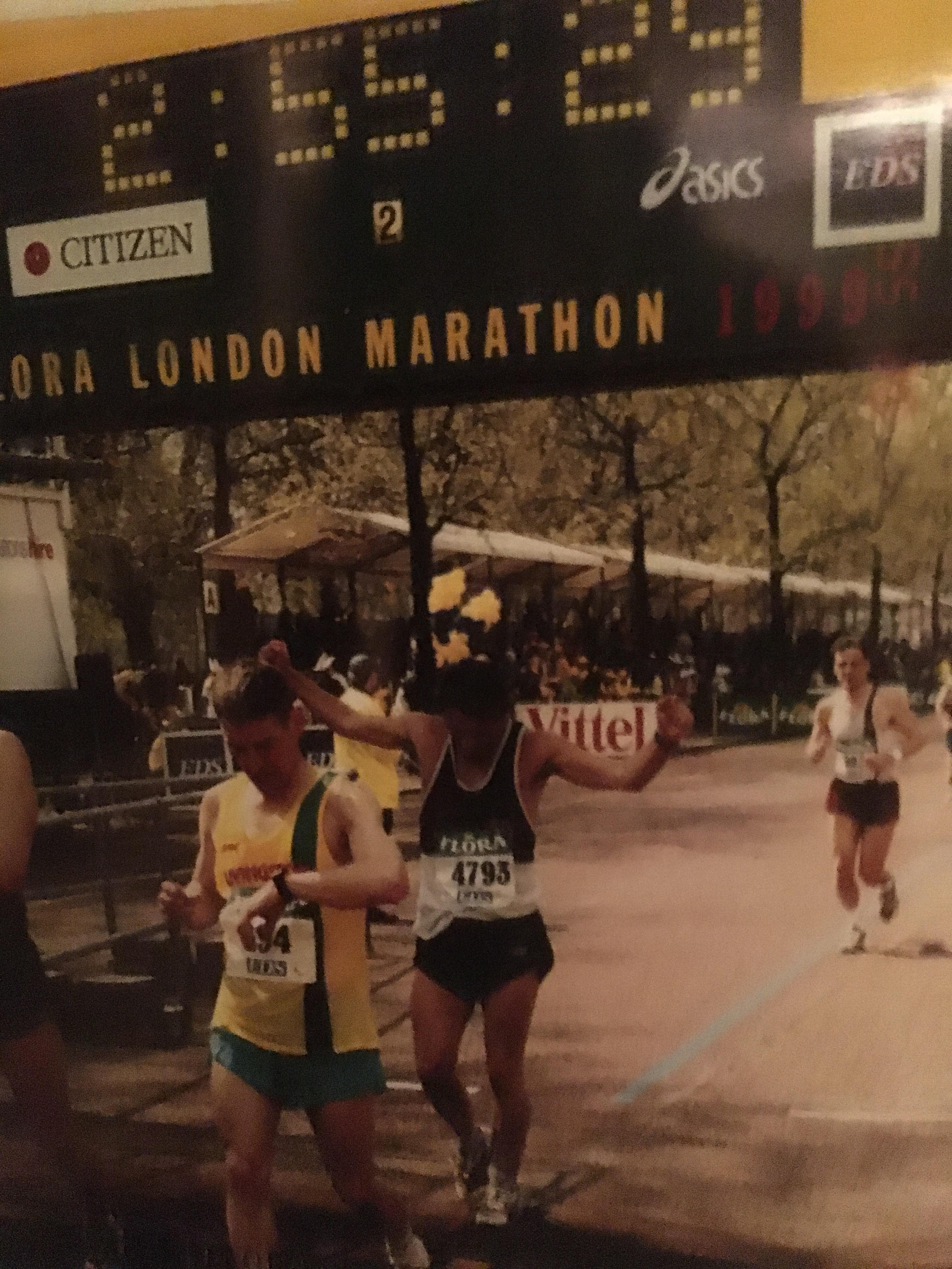 Paul Dennis - London Marathon 1999